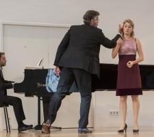 YSP Meisterklasse Thomas Hampson  Thomas Hampson Nika Goric, Sopran Matteo Pais, Klavier