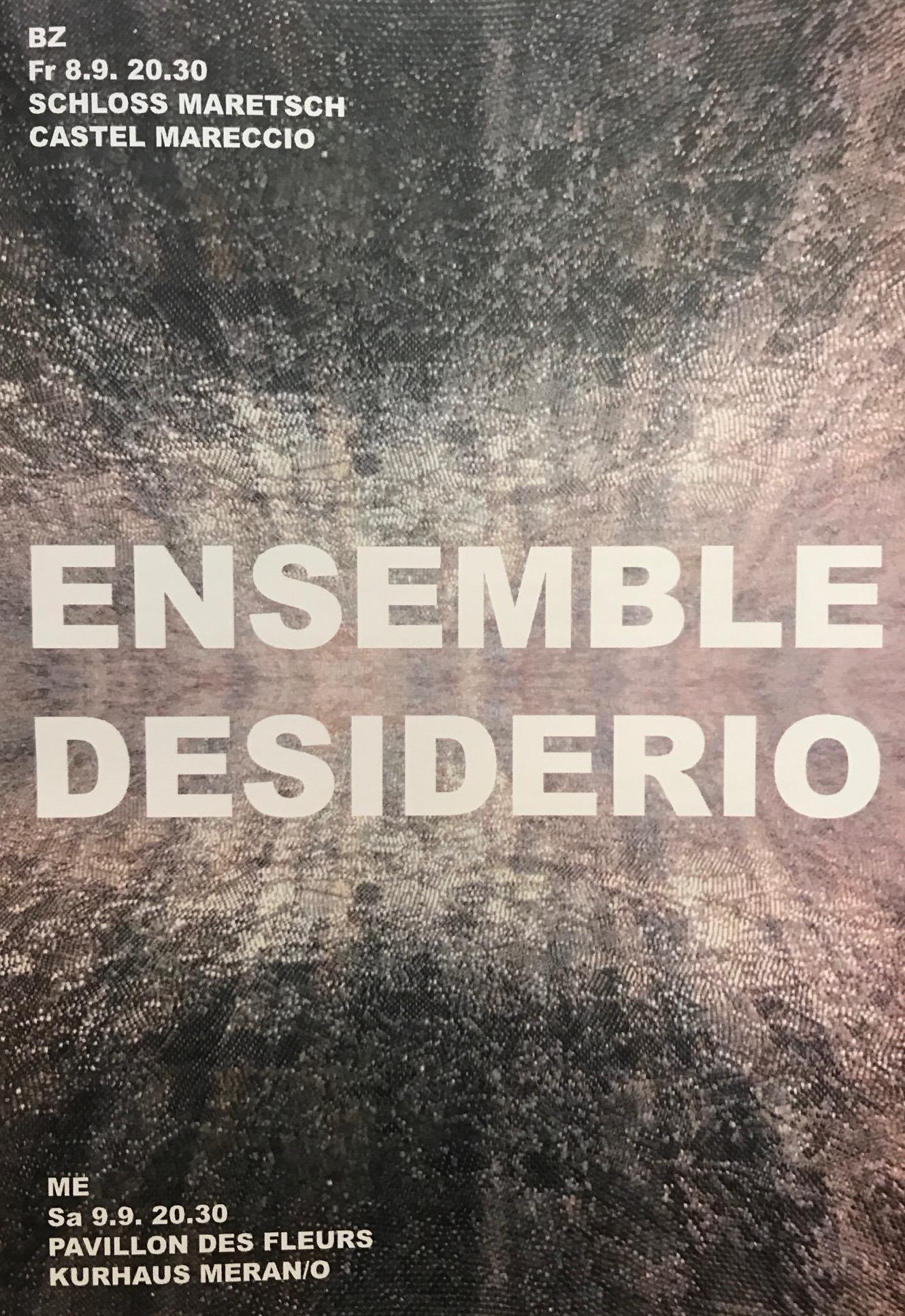 08.09.2017 – ENSEMBLE DESIDERIO – Mahler Symphony No. 4