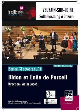 31.10.2020 – Onzain, France – Didon et Énée de Purcell