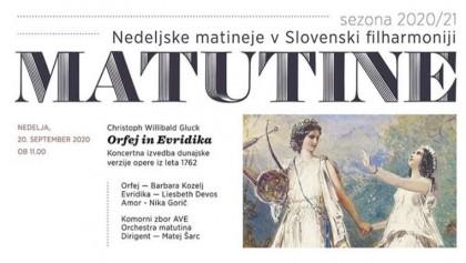 20.9.2020 – Marjan Kozina Hall, Ljubljana – Gluck Orfeo ed Euridice (Amore)